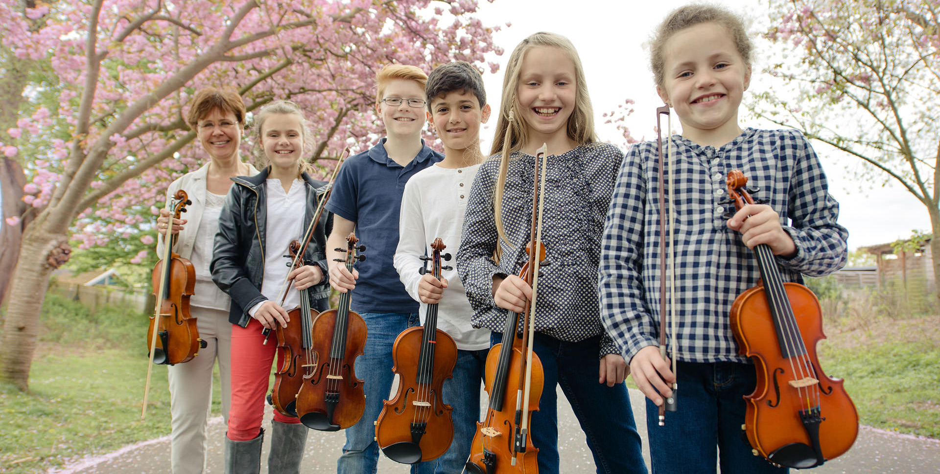 Geigenunterricht Bratschenunterricht Köln Sülz Klettenberg Rhodenkirchen Schülergruppe